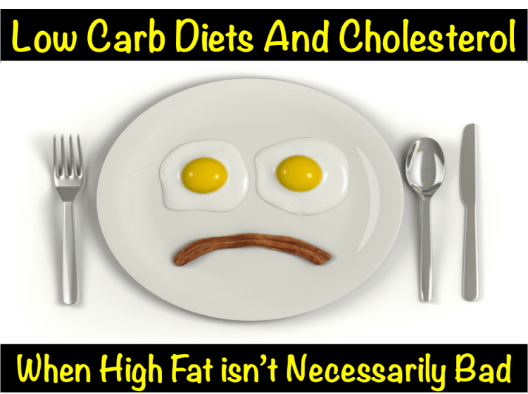 Low Carb Diets and Cholesterol Levels – When High Fat Isn't Bad