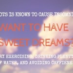 Insomnia / Sleeping Problems & POTS Syndrome
