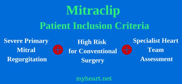 Patient Inclusion Criteria