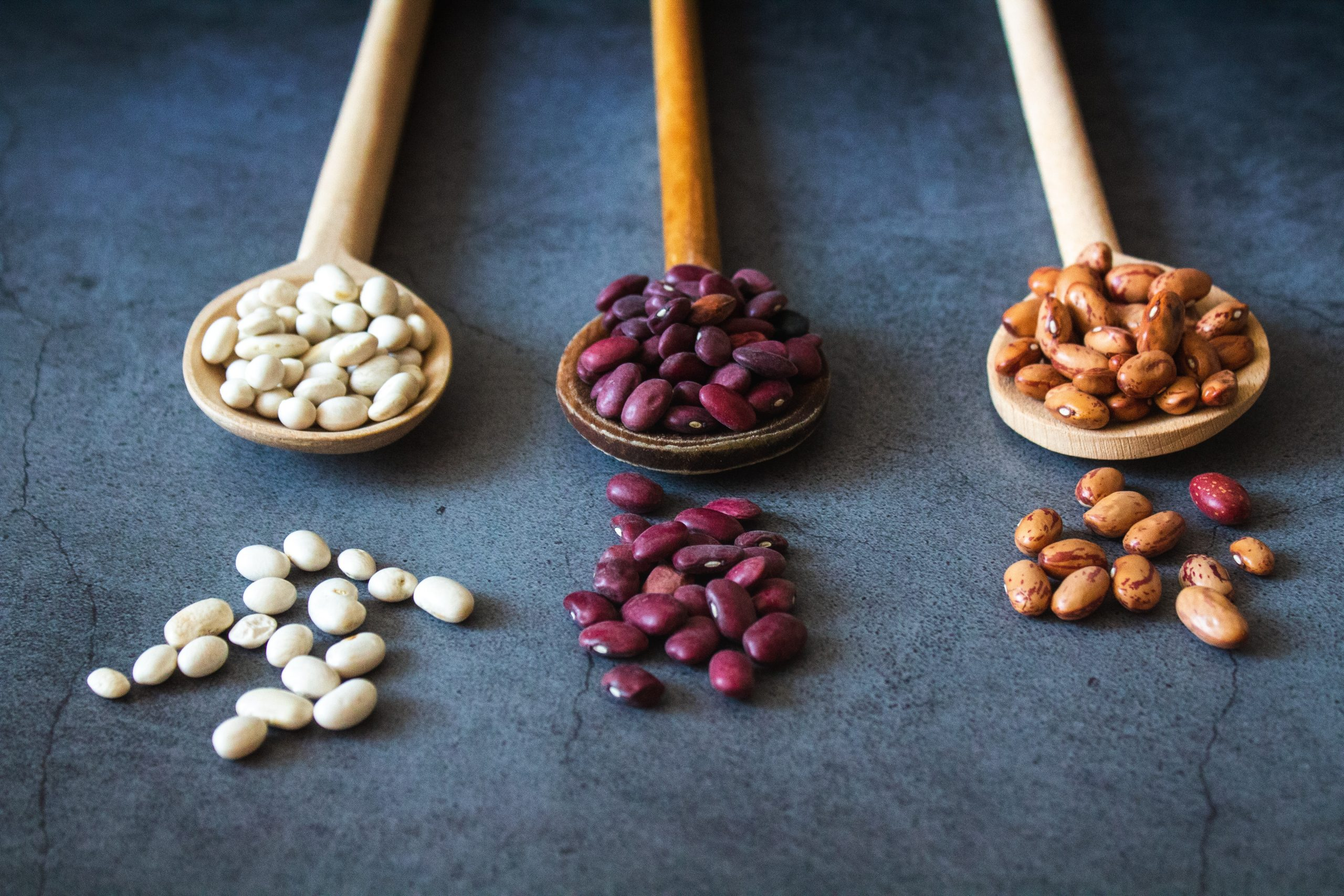 Plant protein in the form of beans.